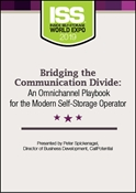 Picture of DVD - Bridging the Communication Divide: An Omnichannel Playbook for the Modern Self-Storage Operator