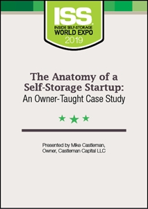 Picture of DVD - The Anatomy of a Self-Storage Startup: An Owner-Taught Case Study