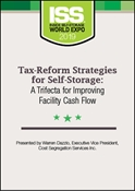 Picture of DVD - Tax-Reform Strategies for Self-Storage: A Trifecta for Improving Facility Cash Flow