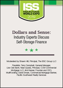 Picture of DVD - Dollars and Sense: Industry Experts Discuss Self-Storage Finance