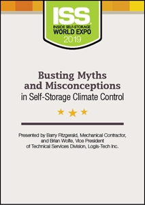 Picture of DVD - Busting Myths and Misconceptions in Self-Storage Climate Control