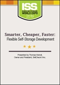 Picture of DVD - Smarter, Cheaper, Faster: Flexible Self-Storage Development