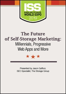 Picture of DVD - The Future of Self-Storage Marketing: Millennials, Progressive Web Apps and More