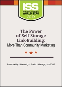 Picture of DVD - The Power of Self-Storage Link-Building: More Than Community Marketing