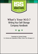 Picture of DVD - What's Your M.O.? Writing Your Self-Storage Company Handbook