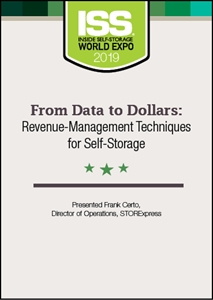 Picture of DVD - From Data to Dollars: Revenue-Management Techniques for Self-Storage