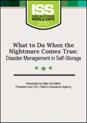 Picture of DVD - What to Do When the Nightmare Comes True: Disaster Management in Self-Storage