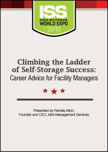 Picture of DVD - Climbing the Ladder of Self-Storage Success: Career Advice for Facility Managers