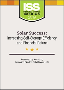 Picture of Solar Success: Increasing Self-Storage Efficiency and Financial Return