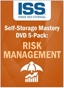 Picture of Self-Storage Mastery DVD 5-Pack: Risk Management