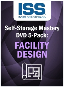 Picture of Self-Storage Mastery DVD 5-Pack: Facility Design