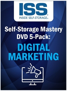 Picture of Self-Storage Mastery DVD 5-Pack: Digital Marketing