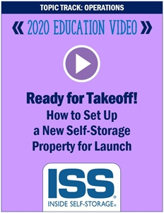 Picture of DVD - Ready for Takeoff! How to Set Up a New Self-Storage Operation for Launch