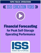 Picture of DVD Pre-Order - Financial Forecasting for Peak Self-Storage Operating Performance