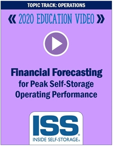 Picture of DVD - Financial Forecasting for Peak Self-Storage Operating Performance
