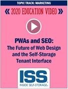 Picture of DVD - PWAs and SEO: The Future of Web Design and the Self-Storage Tenant Interface
