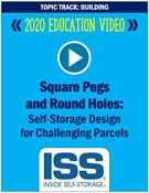 Picture of DVD - Square Pegs and Round Holes: Self-Storage Design for Challenging Parcels