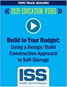 Picture of DVD - Build to Your Budget: Using a Design/Build Construction Approach in Self-Storage