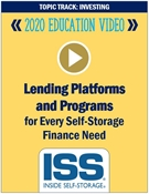 Picture of DVD - Lending Platforms and Programs for Every Self-Storage Finance Need