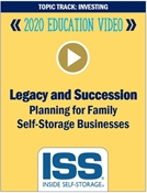 Picture of DVD Pre-Order - Legacy and Succession Planning for Family Self-Storage Businesses
