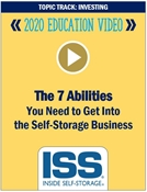 Picture of DVD - The 7 Abilities You Need to Get Into the Self-Storage Business