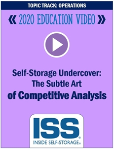 Picture of DVD - Self-Storage Undercover: The Subtle Art of Competitive Analysis