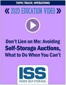 Picture of DVD Pre-Order - Don't Lien on Me: Avoiding Self-Storage Auctions, What to Do When You Can't