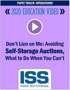 Picture of DVD - Don't Lien on Me: Avoiding Self-Storage Auctions, What to Do When You Can't