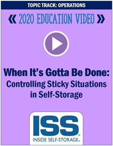 Picture of DVD - When It's Gotta Be Done: Controlling Sticky Situations in Self-Storage