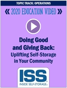 Picture of DVD Pre-Order - Doing Good and Giving Back: Uplifting Self-Storage in Your Community