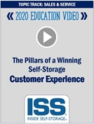 Picture of DVD - The Pillars of a Winning Self-Storage Customer Experience