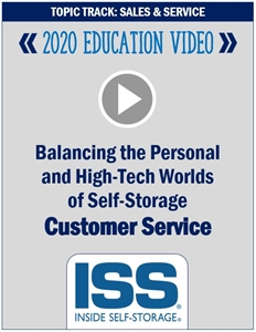 Picture of DVD - Balancing the Personal and High-Tech Worlds of Self-Storage Customer Service