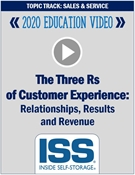 Picture of DVD - The Three Rs of Customer Experience: Relationships, Results and Revenue