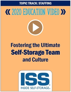 Picture of DVD - Fostering the Ultimate Self-Storage Team and Culture