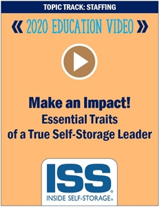 Picture of DVD Pre-Order - Make an Impact! Essential Traits of a True Self-Storage Leader