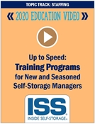 Picture of DVD - Up to Speed: Training Programs for New and Seasoned Self-Storage Managers