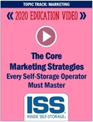 Picture of DVD - The Core Marketing Strategies Every Self-Storage Operator Must Master