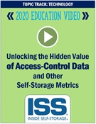 Picture of DVD - Unlocking the Hidden Value of Access-Control Data and Other Self-Storage Metrics
