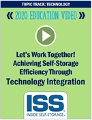 Picture of DVD Pre-Order - Let's Work Together! Achieving Self-Storage Efficiency Through Technology Integration