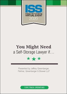 Picture of DVD - You Might Need a Self-Storage Lawyer if…