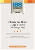 Picture of DVD - Clinch the Deal: 7 Steps to Superior Self-Storage Sales