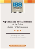 Picture of DVD - Optimizing the Elements of the Online Storage-Rental Experience