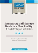 Picture of DVD - Structuring Self-Storage Deals in a New Reality: A Guide for Buyers and Sellers