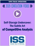 Picture of Self-Storage Undercover: The Subtle Art of Competitive Analysis