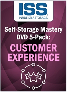 Picture of Self-Storage Mastery DVD 5-Pack: Customer Experience