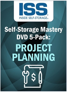 Picture of Self-Storage Mastery DVD 5-Pack: Project Planning