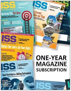Picture of Inside Self-Storage Magazine 1-Year Subscription (12 issues)