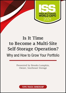 Picture of DVD Pre-Order - Is It Time to Become a Multi-Site Self-Storage Operation? Why and How to Grow Your Portfolio