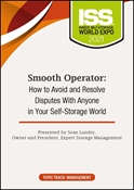 Picture of DVD - Smooth Operator: How to Avoid and Resolve Disputes With Anyone in Your Self-Storage World