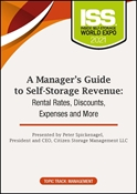 Picture of DVD Pre-Order - A Manager's Guide to Self-Storage Revenue: Rental Rates, Discounts, Expenses and More